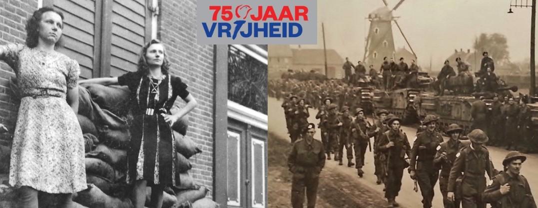 Herdenking 75 jaar bevrijding Hilvarenbeek