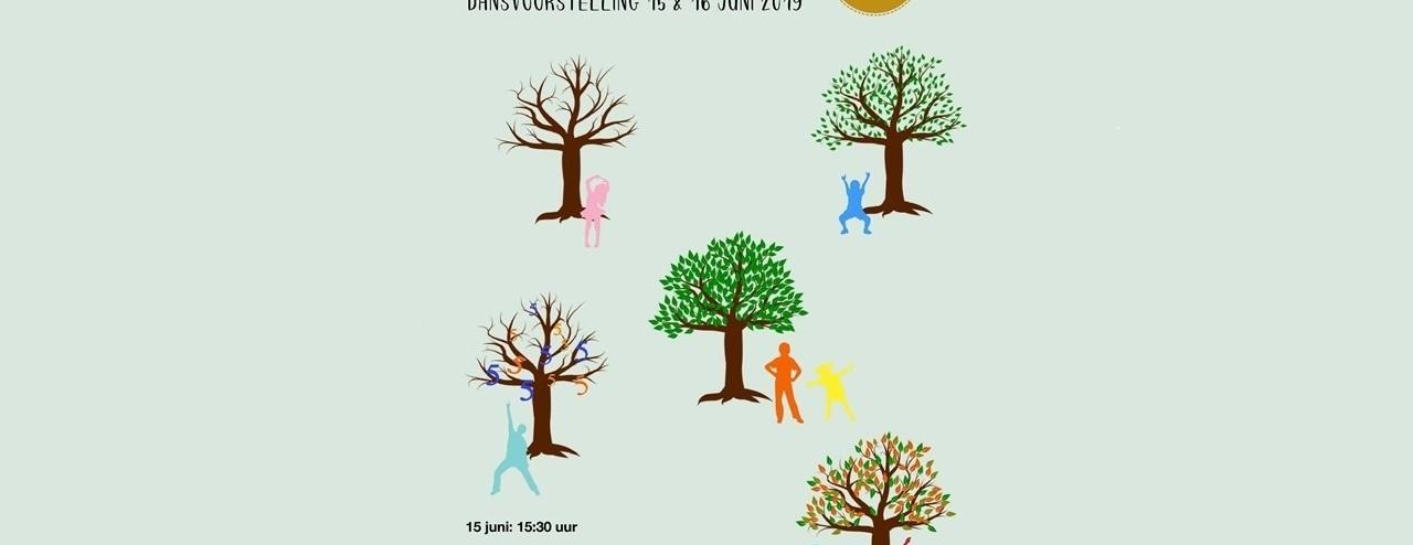 De 5 Seizoenen - Dansvoorstelling - Dansschool Hilvarenbeek