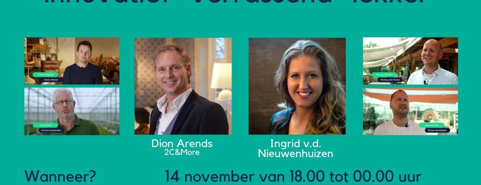 Ondernemersdiner 14 november