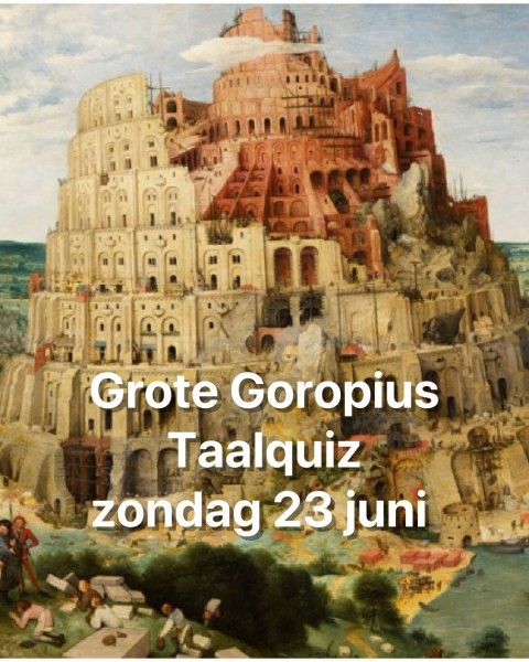 Grote Goropius Taalquiz met Wim Daniëls