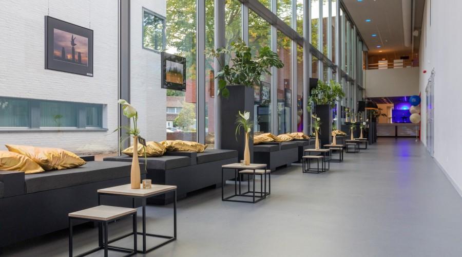 Aangeklede corridor in Elckerlyc Hilvarenbeek